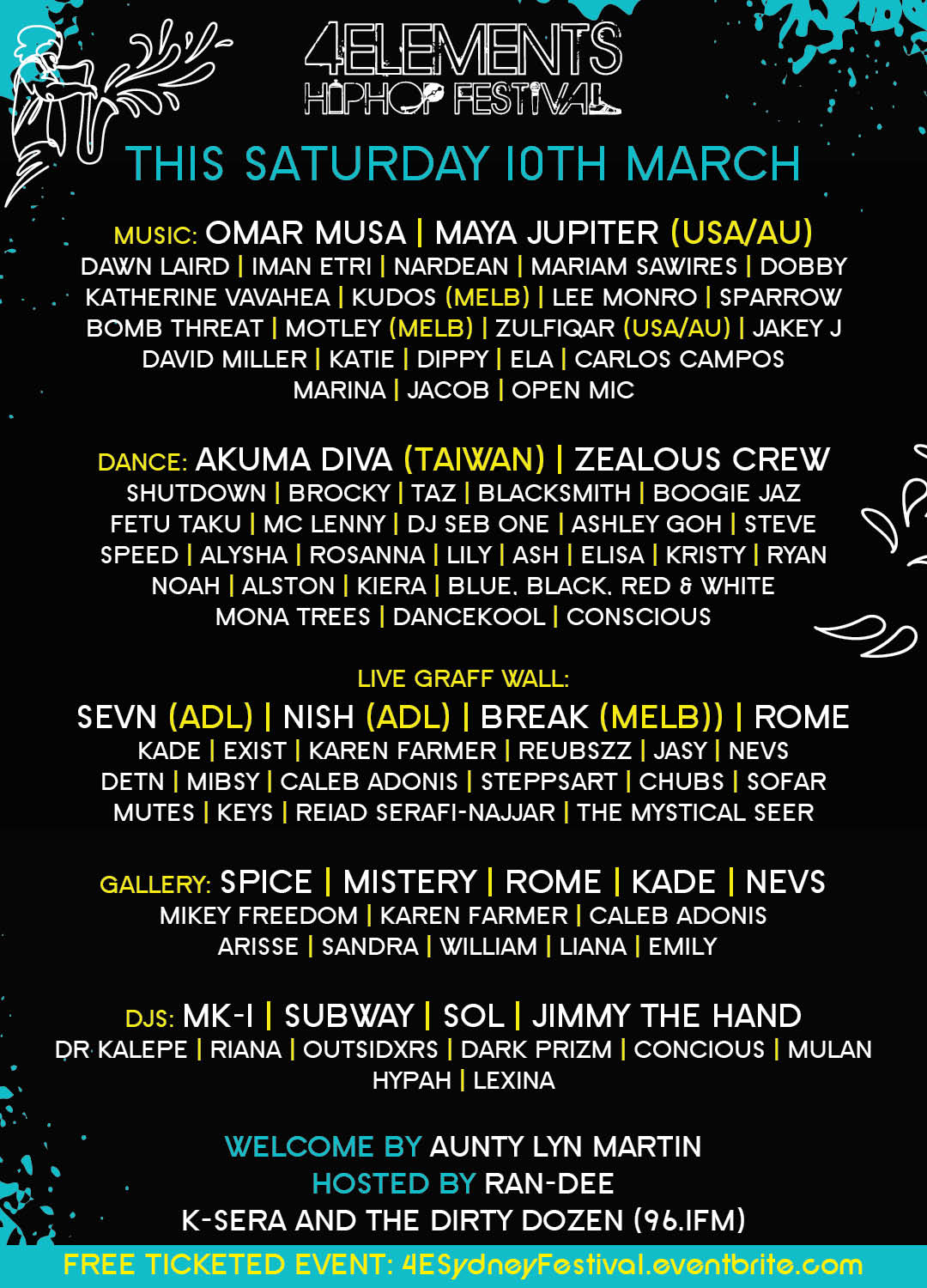 4Elements HipHop Festival 2018