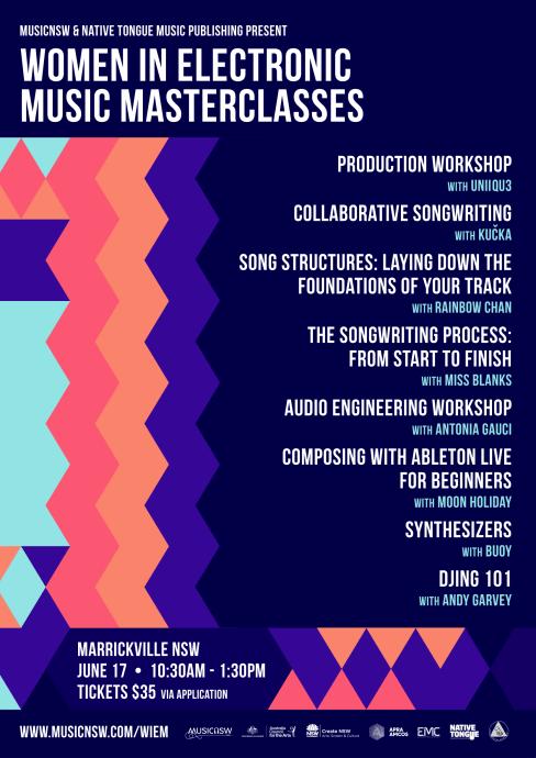 WIEM Masterclasses 2017 Poster