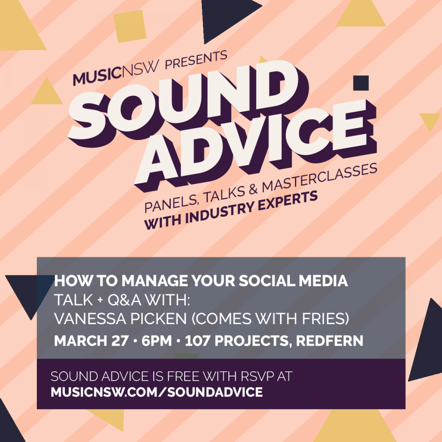 March 27 SOUND ADVICE How to manage your social media!