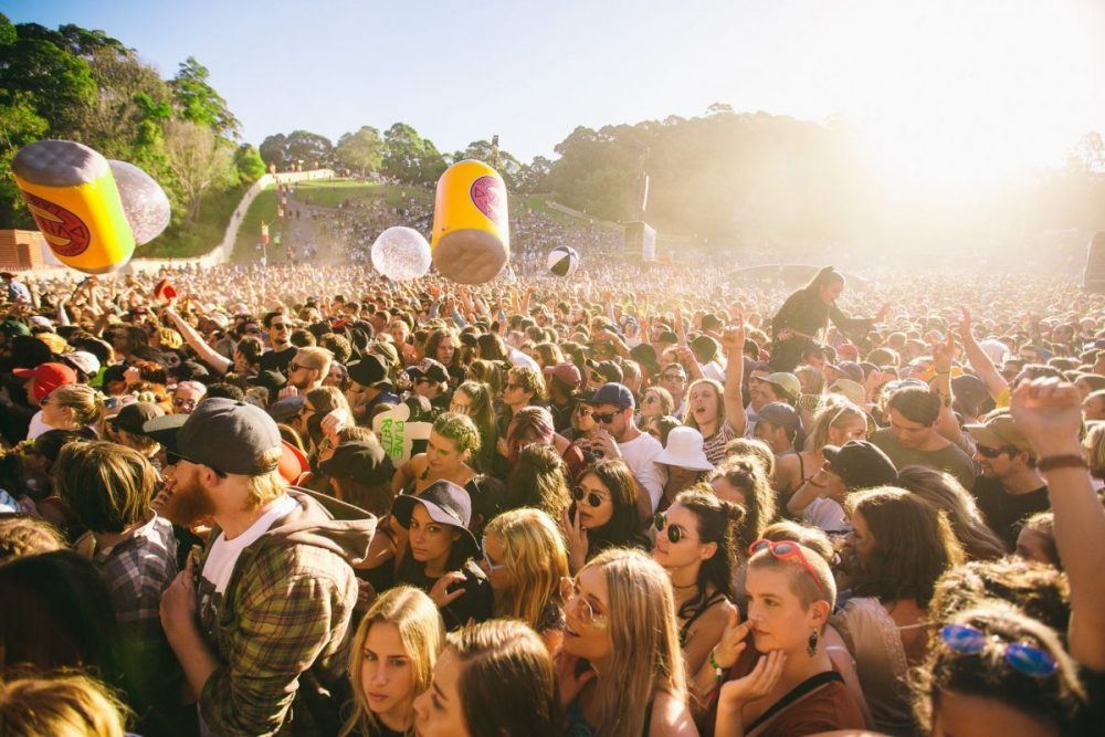Splendour crowd